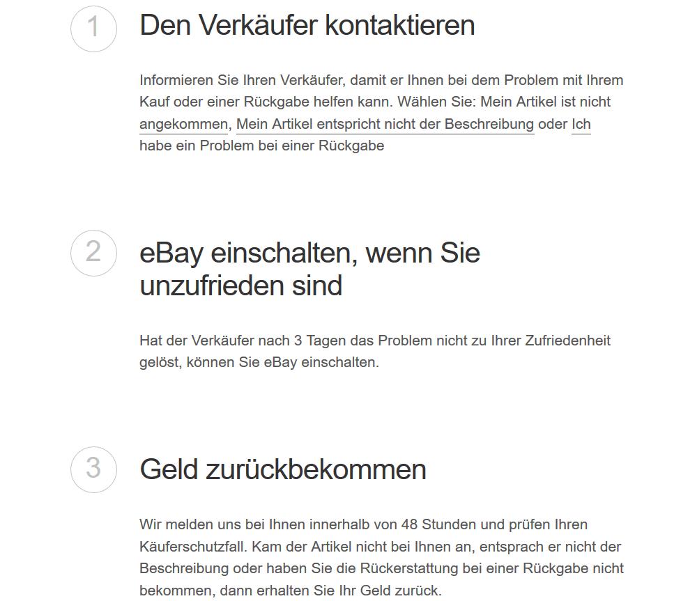 ebay-käuferschutz-bei-gebrauchten Artikeln