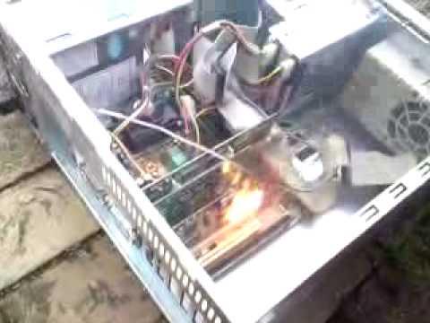 netzwerkkarte im pc brennt