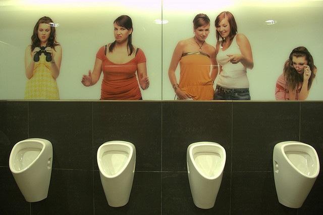 Witzige Toiletten