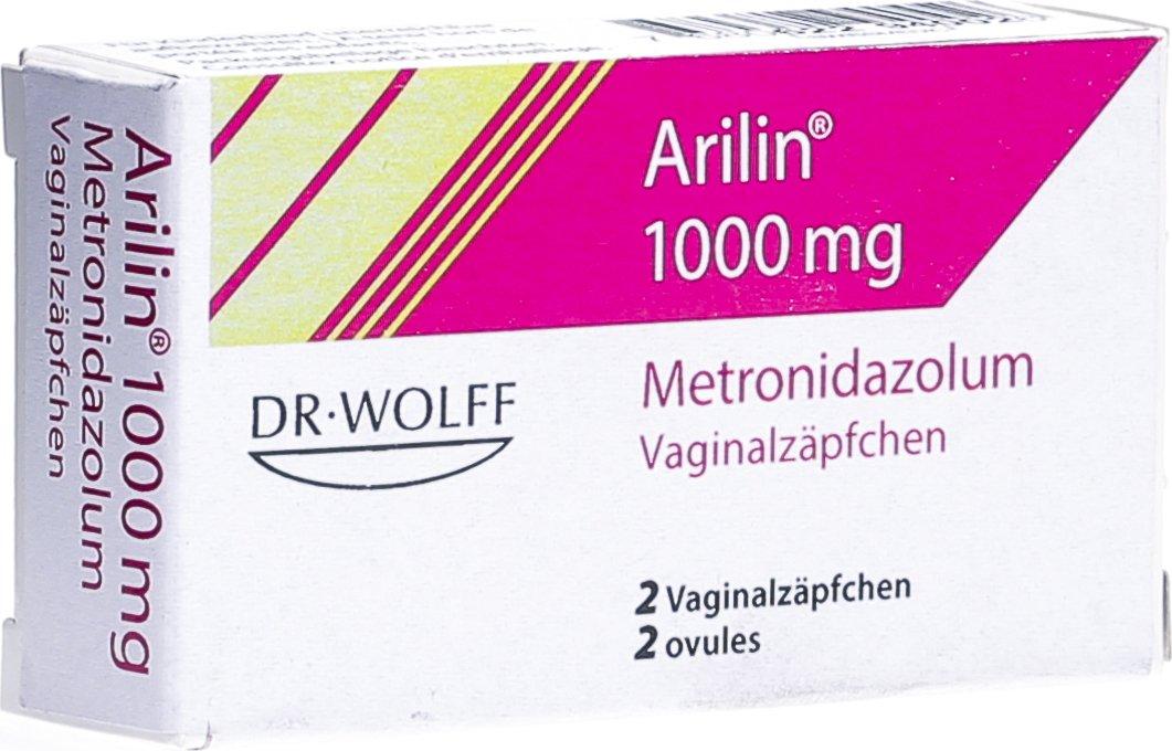 Arilin Vaginalzäpfchen Pille & Schwangerschaftstest