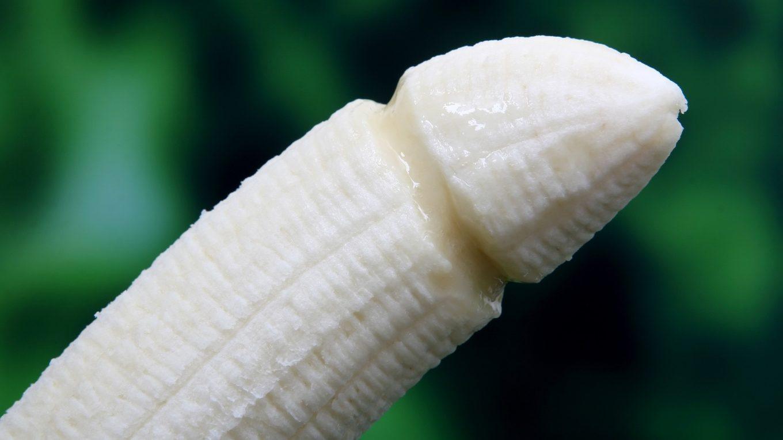 Penis gebogen
