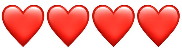 Herz-Chatten