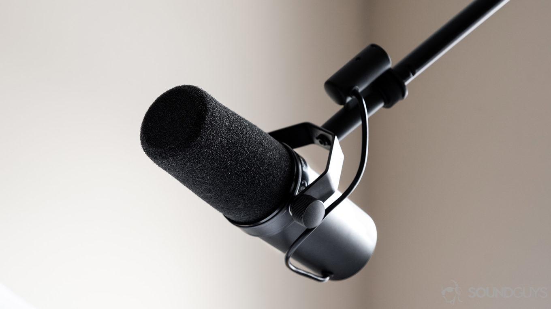 Shure-SM7B-dynamic-microphone