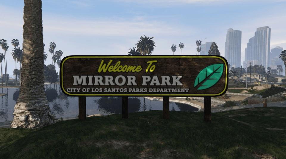 Wo ist der Mirror Park in GTA Online ? (Mit Karte)